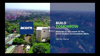 Acorn Student Accommodation REITs Launch