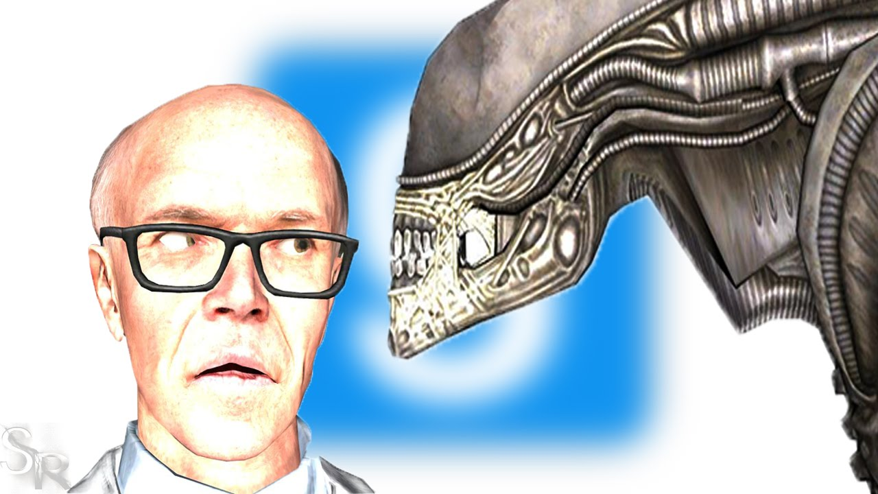 Alien: Isolation - Xenomorph in Garry's Mod, starring Dr  Kleiner