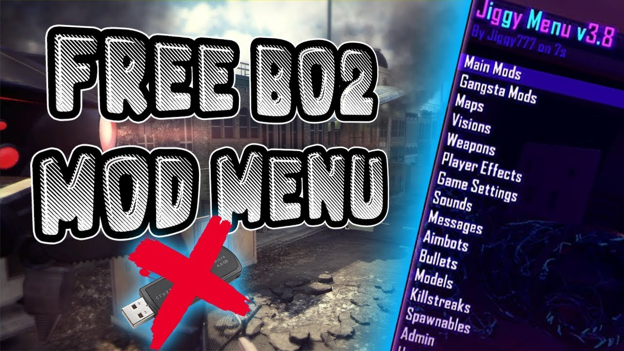 Free bo2 mod menus | Bo2 Zombies Mod Menu For Usb For Ps3 Free