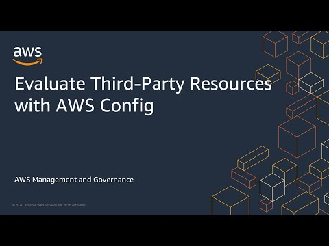 Evaluate Third-Party Resources with AWS Config