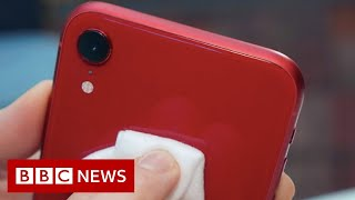 How to clean your smartphone safely - BBC News