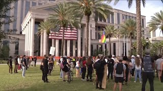 Peaceful protests across Northeast Florida