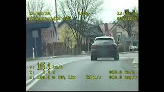 Pirat drogowy w Porsche stracił prawo jazdy