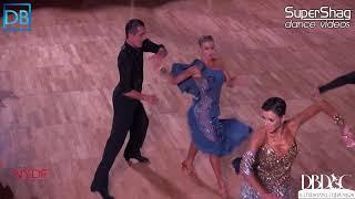 Part 1 Approach the Bar with Dancebeat! NYDF 2018 Pro Latin! Nikita Malakhov and Nadezda Vlasova