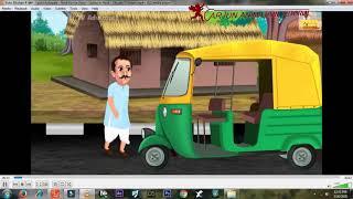 how to make moral story ! एनीमेशन वीडियो कैसे बनाये  ! cartoon animator 4