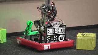 Team 987 Robot Demo during Las Vegas Science & Technology Festival