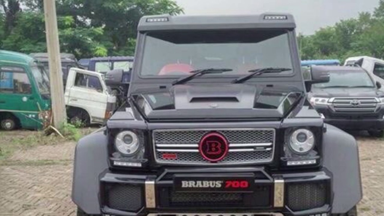 2017 Mercedes G63 6x6 Brabus 700 Now In Pakistan Worth 25crore