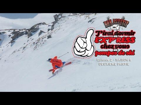 EP2S6 #2 - Bon Appétit - J'irai dormir en express chez vous en pompes de ski