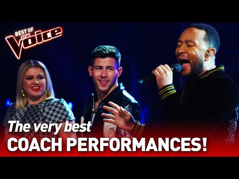 SUPERSTAR COACHES perform in The Voice | Find the Easter Eggs