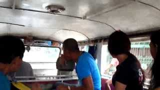 Riding a Jeepney Down The Pan-Philippine Highway