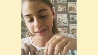 Как сделать блёстки для маникюра?😉