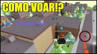 HOW TO FLY IN SUPER POWER TRAINING SIMULATOR!! ROBLOX