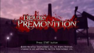 Spoony One - Let's Play Deadly Premonition – Episode 1 (5-26-10)
