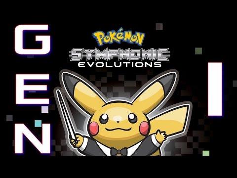 Pokémon Symphonic Evolutions: Red/Blue/Yellow Music (Generation 1)