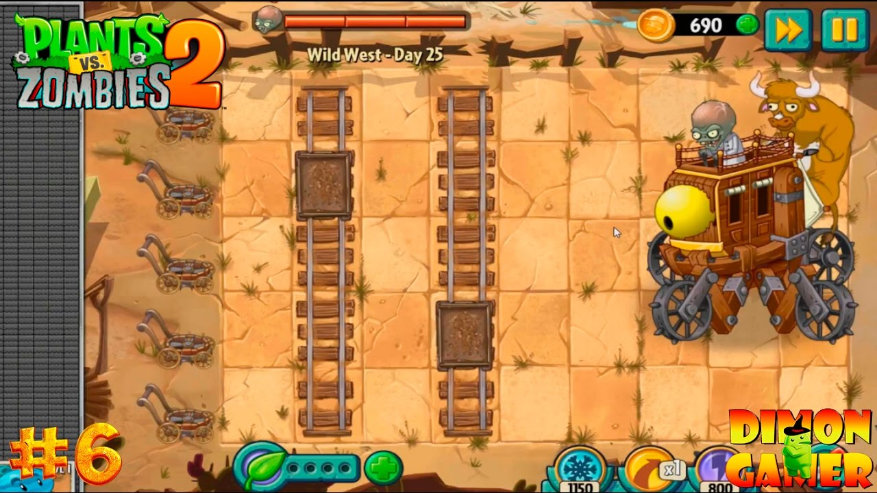 Plants vs Zombies Hack - Gatling Pea vs Gargantuar vs ...