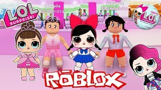 CHALLENGE of the DOLL LOL SURPRISE in the ROBLOX!!! Game to dress up as DOLLS L.O. L SURPRISE!!!