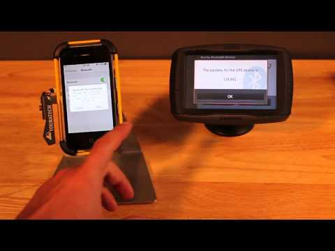 Zumo 590LM GPS - Pairing Bluetooth Devices - Tips from Touratech-USA