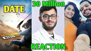 CarryMinati 30 Million Subs RECORD!- His Reaction | PUBG Mobile, Flying Beast, Sanjiv Kumar, Peepoye