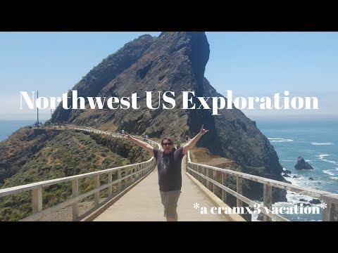 Exploring the Northwest of the US - Seattle, Portland, San Francisco 5 National Parks *cramx3 style*