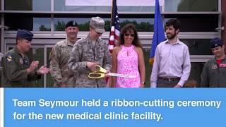 Seymour Johnson Medical Clinic Ribbon-Cutting Ceremony