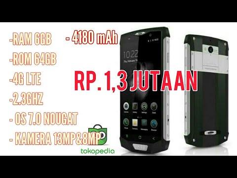 BLACKVIEW BV8000 Android Murah RAM 6GB Cuma 1 JUTAAN Udah 4G LTE 64GB 4180mAh