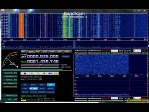 1440kHz Radio Kiribati HDSDR Version Closing National Anthem