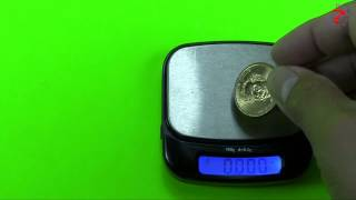 How much does this Presidential $1 Coin weigh?