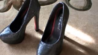 Женская обувь с AliExpress. Туфли на высоком каблуке. Обзор и примерка.