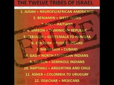 False doctrine exposed the tribes chart debunked also youtube rh
