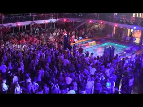 Carnival Dream Deck Party Youtube