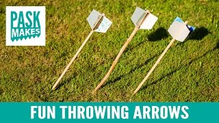 Throwing Arrows - Fun Project with the Kids