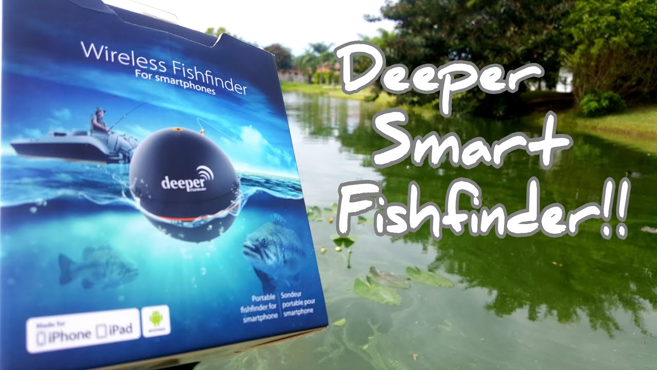 Deeper smart fish finder setup and review youtube for Deeper fish finder review