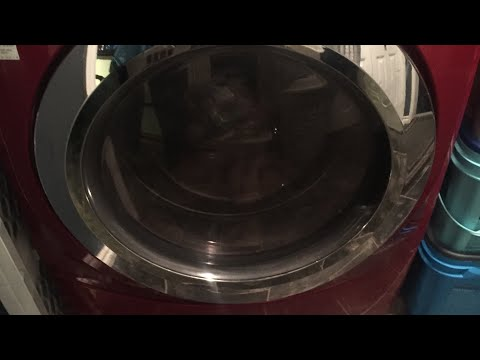 Clean filter in front load washing machine. Easy!