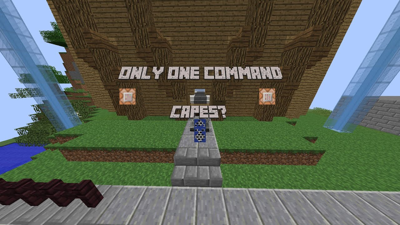 Minecraft Capes 1 8 - Year of Clean Water