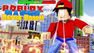 ROBLOX Abenteuer - ROPO DER GIANT BATTLE BOSS!!!