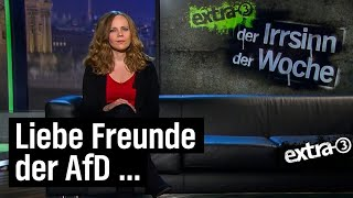 Sarah Bosetti beantwortet AfD-Posts