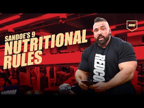 Luke Sandoe's Golden Rules!