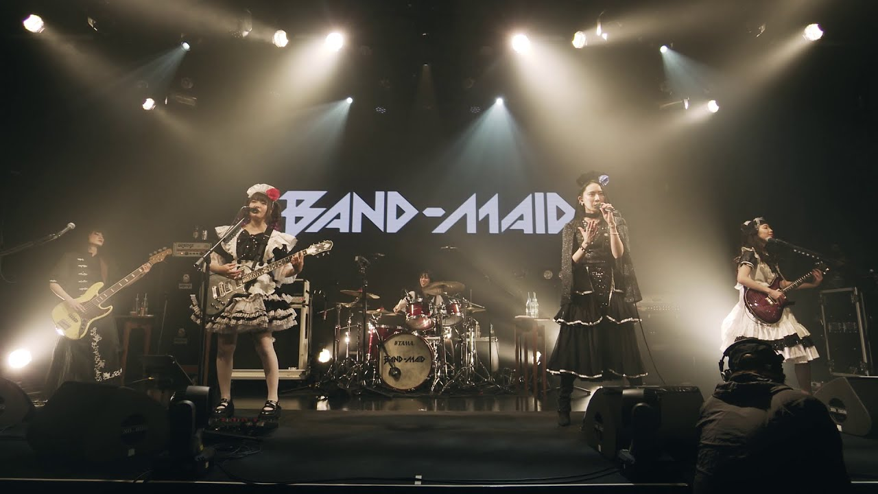 BAND-MAID / Thrill (スリル)  (Official Live Video)