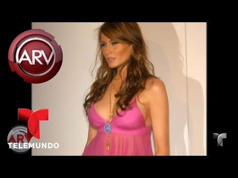 Así ha evolucionado el estilo de Melania Trump | Al Rojo Vivo | Telemundo