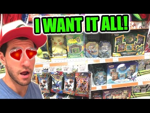 BUYING POKEMON CARDS! - Trip To TOYS R US!