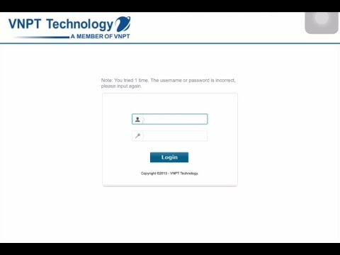 Cách đổi mật khẩu wifi nhà mạng VNPT