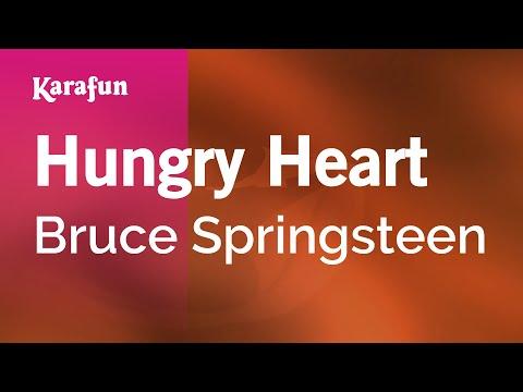 Karaoke Hungry Heart - Bruce Springsteen *