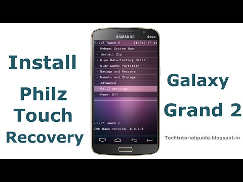 Install Philz Touch Recovery On Galaxy Grand 2