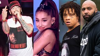 """Eminem Responds To Ariana Grande, Trippie Redd & More... """"This Album Ain't For You Sensitive People"""""""