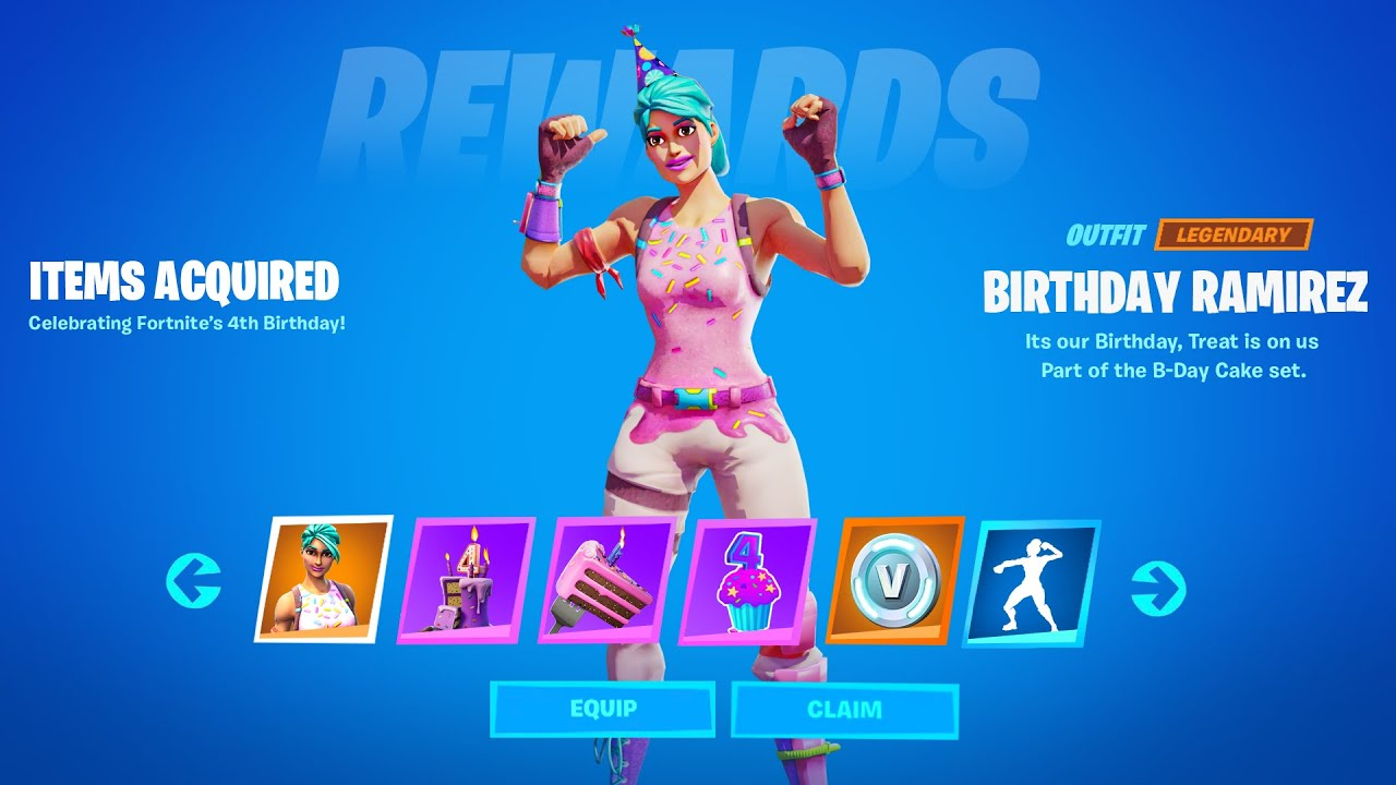 Download How to Unlock Birthday Rewards in Fortnite (Fortnite Birthday Challenges Reward)