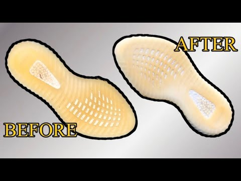 How to Unyellow Icy Soles Easily ( BEATERS 2 HEATERS PT. 1 )