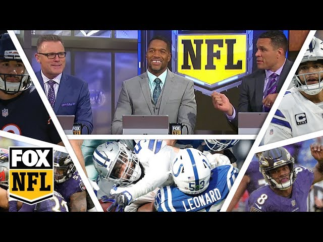 FOX NFL crew break down Week 15 Cowboys, Ravens & Bears | FOX NFL