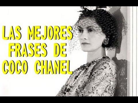 Las Mejores Frases De Coco Chanel Youtube