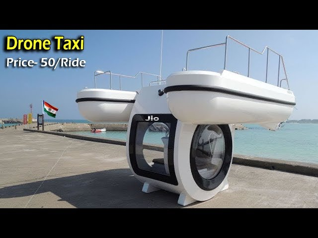 5 UNIQUE TECHNOLOGY GADGETS ▶ Drones Taxi You Can Drive Very Fast