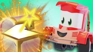 Truck Games - Геометрические ключи Мультфильмы с грузовиками для детей -